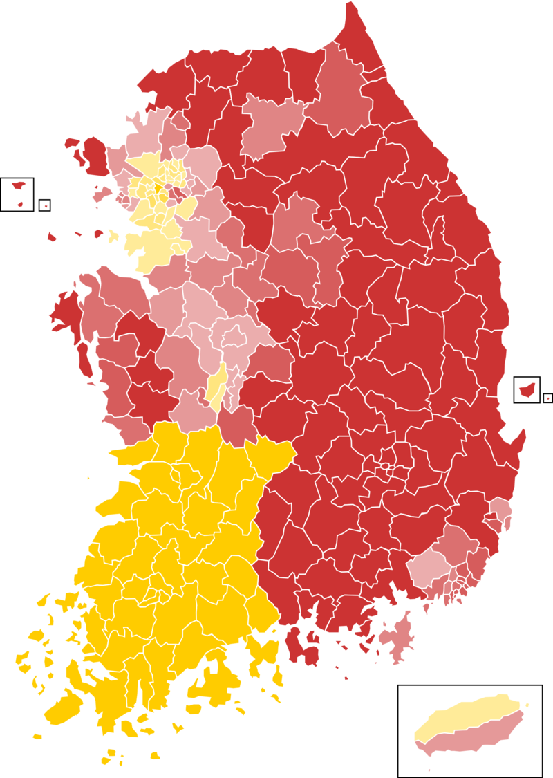2017 South Korean presidential election results [879x939 ...