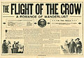 Press sheet for THE FLIGHT OF THE CROW, 1913 (Page 1).jpg