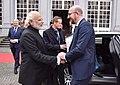 Prime Minister Narendra Modi with Belgian PM Charles Michel.jpg