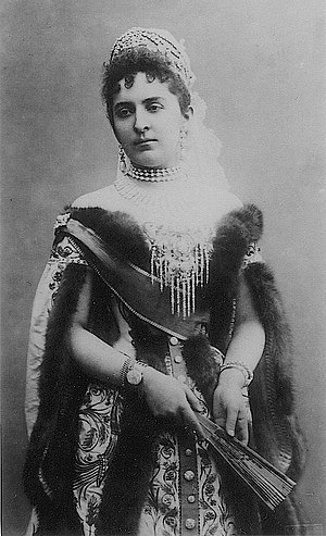Grand Duke Nikolai Nikolaevich of Russia (1856–1929) - Anastasia of Montenegro