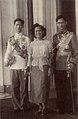 Princess Sri Sangwal with King Ananda Mahidol and Prince Bhumibol Adulyadej.JPG