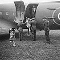 Prinses Irene en prinses Beatrix arriveren, Bestanddeelnr 900-6114.jpg