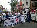 Protestas ciudadanas contra la inseguridad en San Martín Texmelucan, Puebla.jpg