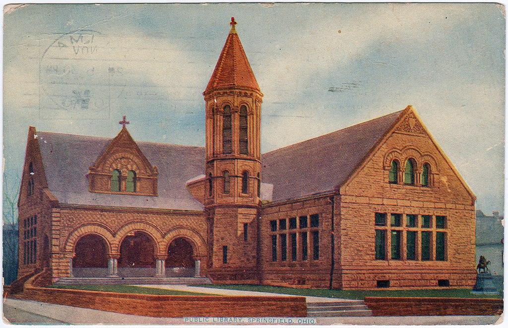 Public Library, Springfield, Ohio (1912) (21422717423).jpg
