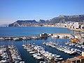 Puerto deportivo en Calpe -Comunidad Valenciana - panoramio.jpg