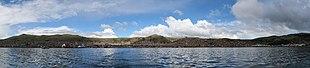 Puno from Titicaca Lake