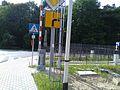 Puszczykowo, szlak rowerowy R9, przejazd kolejowy Puszczykowo - czerwiec 2017.jpg
