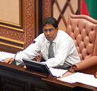 Qasim Ibrahim - Speaker of the Constitutional Assembly 2005-2008.jpg