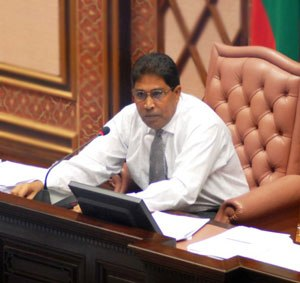 Maldivian parliamentary election, 2014 - Image: Qasim Ibrahim Speaker of the Constitutional Assembly 2005 2008