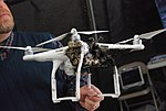 Quadrocopter target drone critically damaged by HEL MD.jpg