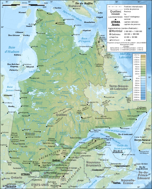 Quebec province topographic map-fr.svg
