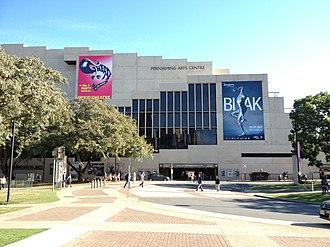 Queensland Cultural Centre - Queensland Performing Arts Centre, part of the Queensland Cultural Centre, 2013