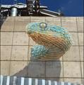 Quetzalcoatl, Trompe-l'oeil Mural by John Pugh.png