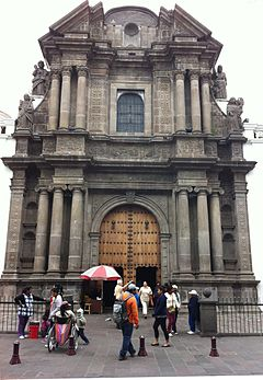 Quito Cathedral main facade.JPG