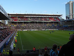 2010 Allsvenskan - Råsunda Stadium   AIK – Capacity 36.608