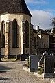 Rückseite Pfarrkirche Hl. Cyriak, Pfarrwerfen samt Friedhof.jpg