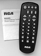 RCA RCU403 Remote