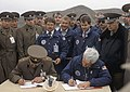 RIAN archive 168159 Soviet and US officers at a military base in Kazakhstan.jpg