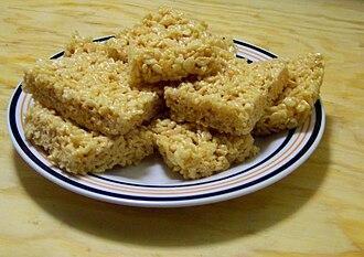 Rice Krispies Treats - Image: RK Tsquares