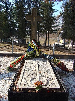 Avram Iancu - Avram Iancu's tomb in Țebea