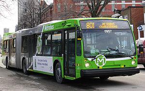 Réseau de transport de la Capitale - Image: RTC parcours 801