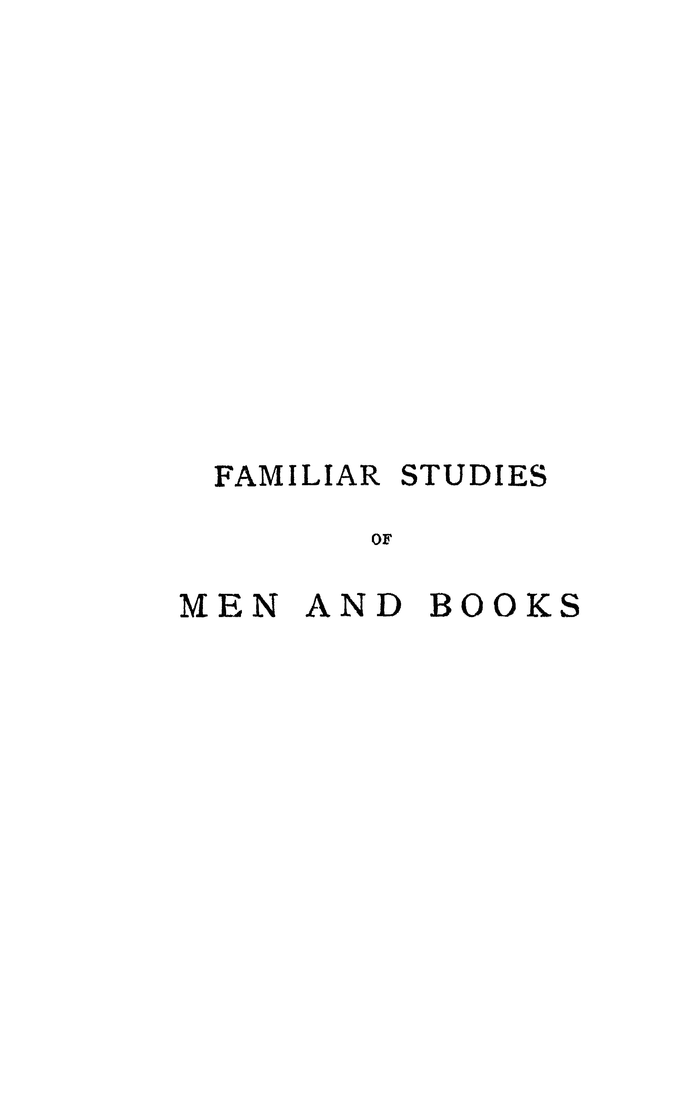 FileR L Stevenson 1917 Familiar Studies Of Men And Booksdjvu