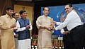 "Radha Mohan Singh presented the awards, at the inauguration of a Conference with theme ""Nutritional & Income Security through Eggs"", on the occasion of the World Egg Day, 2016, in New Delhi (2).jpg"