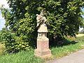 Radweg Volkmarsen Welda Statue.JPG