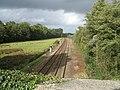 Railway from Spaniard's Lane bridge - geograph.org.uk - 265400.jpg