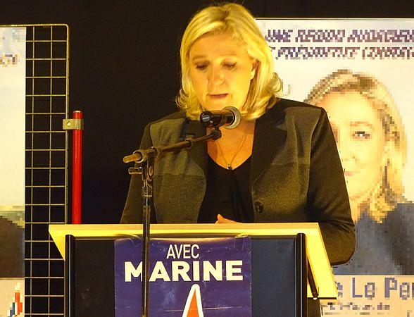 Raismes - Meeting de Marine Le Pen le 16 octobre 2015 sur l'élection régionale en Nord-Pas-de-Calais-Picardie (09).JPG