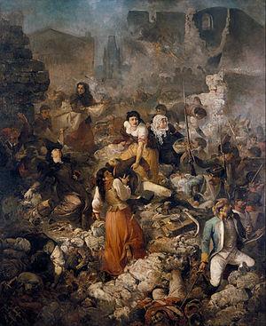 The Great Day of Girona - Ramon Martí i Alsina - The Company of Saint Barbara 1891- MNAC