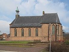 Weg in eigen land, Romaanse kerk in Randwijk