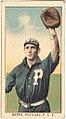 Rapps, Portland Team, baseball card portrait LCCN2008677312.jpg