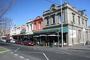 Carlton North, Victoria - Rathdowne St, Carlton North