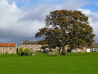 Ravensworth Village and civil parish in North Yorkshire, England