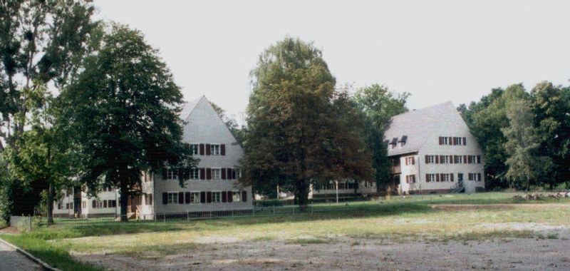 Residential area of the SS guards and Aufseherinnen.