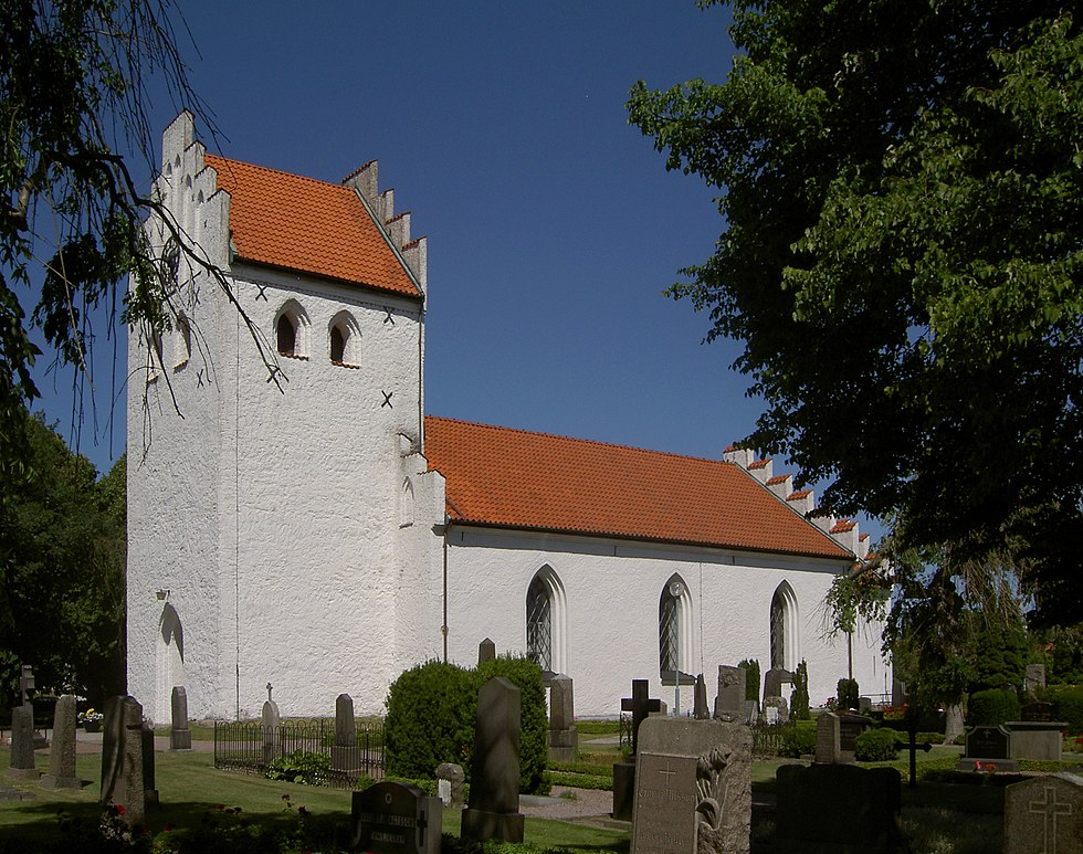 Rebbelberga kyrka - Kyrkor i Lunds stift