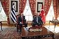 Recep Tayyip Erdoğan and George Papandreou, Turkey November 2009 7.jpg