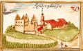 Rechberghausen - Burg, Andreas Kieser.png
