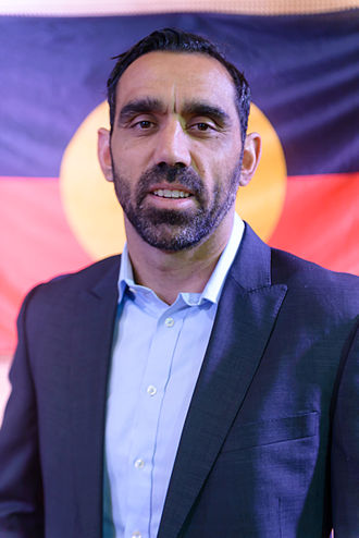 Adam Goodes - Goodes at a Recognise campaign press conference