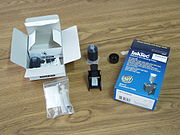 black ink refill kit for inkjet printer