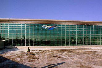 Greater Moncton Roméo LeBlanc International Airport - Terminal building