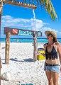Regaderas en playa (http-www.bluekaymahahual.com) - panoramio.jpg