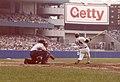 Reggie Jackson bats at Yankee Stadium.jpg