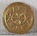 Regno longobardo di tuscia, emissione aurea anonima, zecca di lucca, 650-749 ca. 02.JPG
