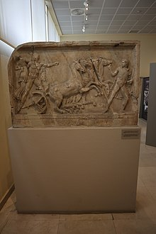 Relief representation of Hercules abducting Iole. 2nd cent. A.D.jpg