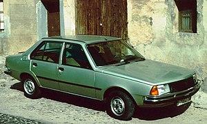 Renault 18 - Renault 18 saloon