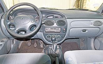 Renault Mégane - Pre facelift interior
