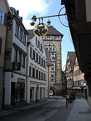 A street view of Reutlingen