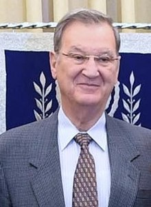 Reuven Rivlin hosting the Egyptian Ambassador to Israel at a festive occasion marking the 40th anniversary of Sadat's visit, November 2017 (1005) (cropped).jpg